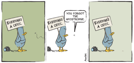 what-the-duck-everyones-a-critic-apostrophe-punctuation-cartoon